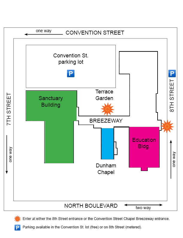 map for brccc